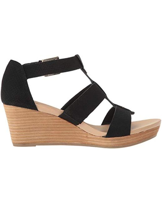 ba8ce7f6083 Lyst - Dr. Scholls Bailey Wedge Sandals in Black - Save 43%