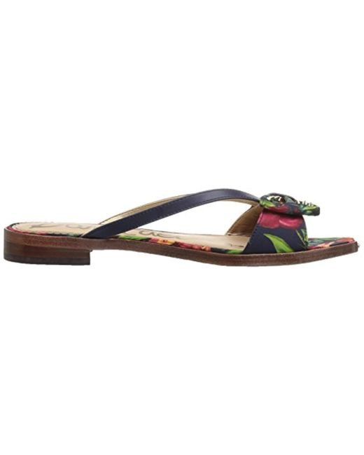 3ece3f516bc3 Lyst - Sam Edelman Dariel Sandal in Blue - Save 1%