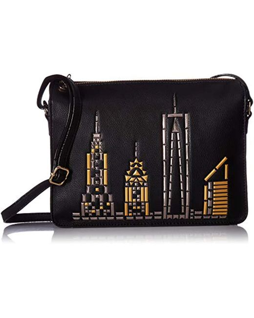 Betsey Johnson - Black Bets In The City Crossbody - Lyst