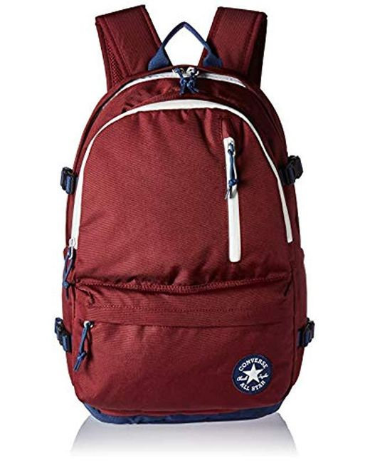 8a28fb1caf04 Converse - Red Straight Edge Backpack Backpack for Men - Lyst ...