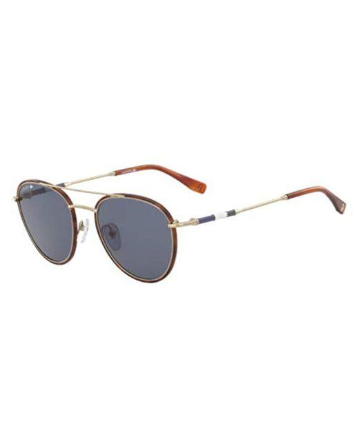 000c71d383 Lacoste - Metallic L102snd Metal Oval Novak Djokovic Capsule Collection  Sunglasses