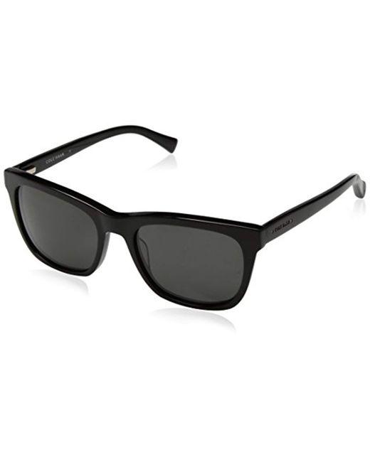 ef549857733 Cole Haan - Black Ch6009 Plastic Square Sunglasses