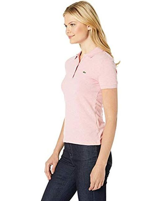 e2ab7785e ... Lacoste - Pink S s Slim Fit Keith Haring Semi Fancy Polo - Lyst ...