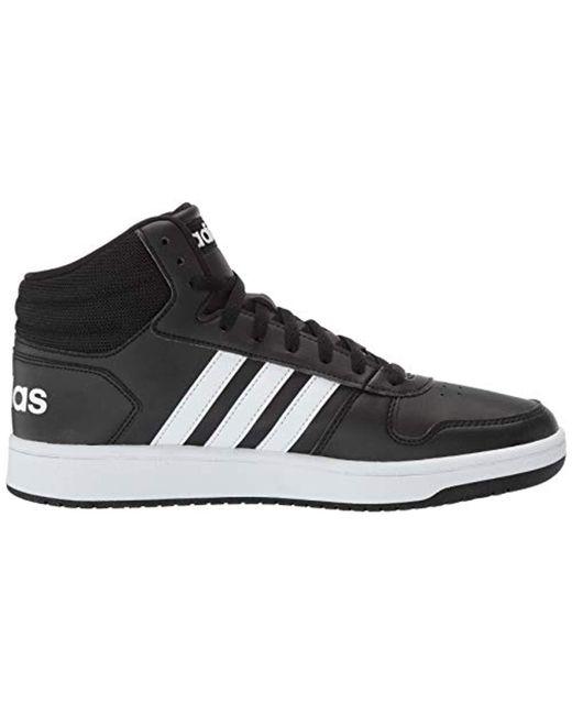 newest 05c97 efba9 ... Adidas - Black Hoops 2.0 Sneaker for Men - Lyst ...