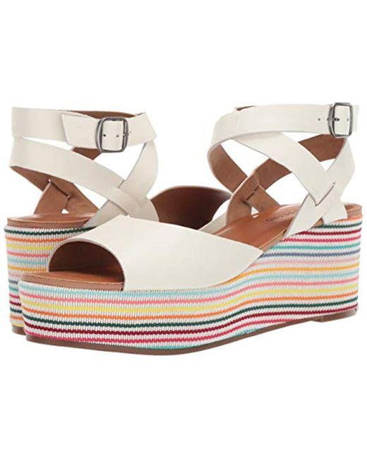 601c67c51cb Lyst - Lucky Brand Ginny Espadrille Wedge Sandal