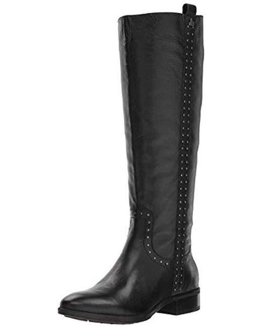 f77ef0ebb46a Sam Edelman - Black Prina 2 Knee High Boot - Lyst ...