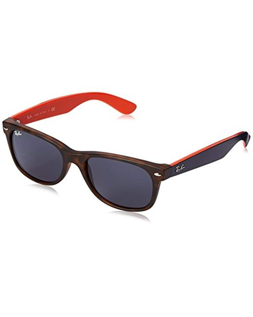 Ray-Ban - Gray Unisex Rb 2132 New Wayfarer Sunglasses - Lyst