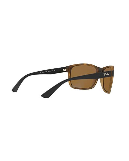 Ray-Ban - Brown Rb4301l Polarized Sunglasses, 62 Mm for Men 56dcd79f896b
