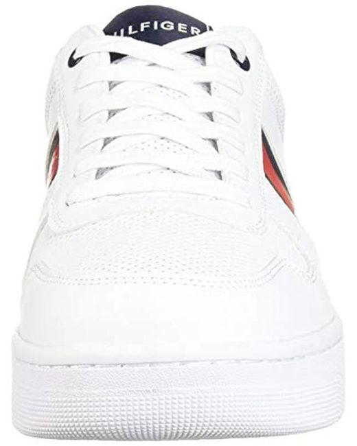 a8bf46491de ... Tommy Hilfiger - White Fallop Sneaker for Men - Lyst ...