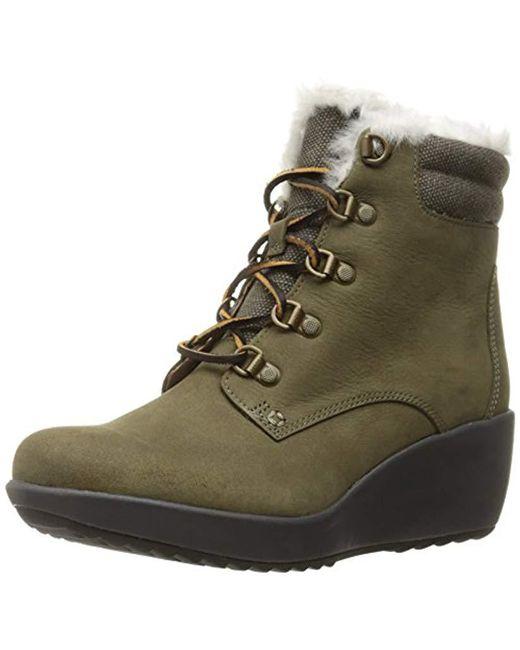 Sperry Top-Sider - Green Women's Luca Peak Weatherproof Boot - Lyst