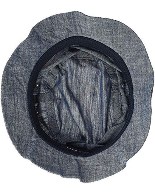 3727964436f ... Tommy Hilfiger - Blue Dad Hat Flag Bucket Cap for Men - Lyst