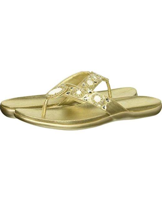 Kenneth Cole Reaction - Multicolor Glam-a-thon 2 Glitzy Thong Sandal Flip-flop - Lyst