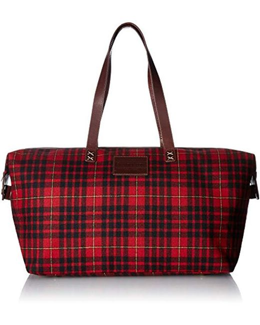 Pendleton - Red Relaxed Gym Bag Accessory - Lyst