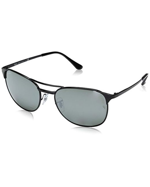 e23676feab Lyst - Ray-Ban S Signet Sunglasses (rb3429) Metal in Black for Men ...