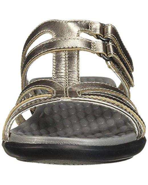 968a8a5cb97 Lyst - Clarks Sonar Pilot Sandal in Metallic - Save 17%