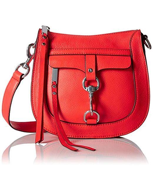 Rebecca Minkoff - Red Dog Clip Saddle Bag Cross-body - Lyst