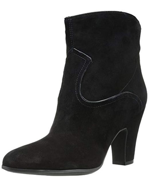 Nine West - Black Quarrel Suede Boot - Lyst