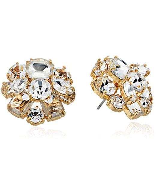 Kate Spade - Metallic Cluster Stud Earrings - Lyst
