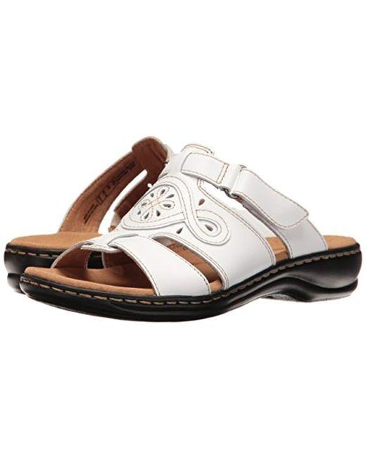 d935c767308 ... Clarks - Multicolor Leisa Higley Slide Sandal - Lyst ...