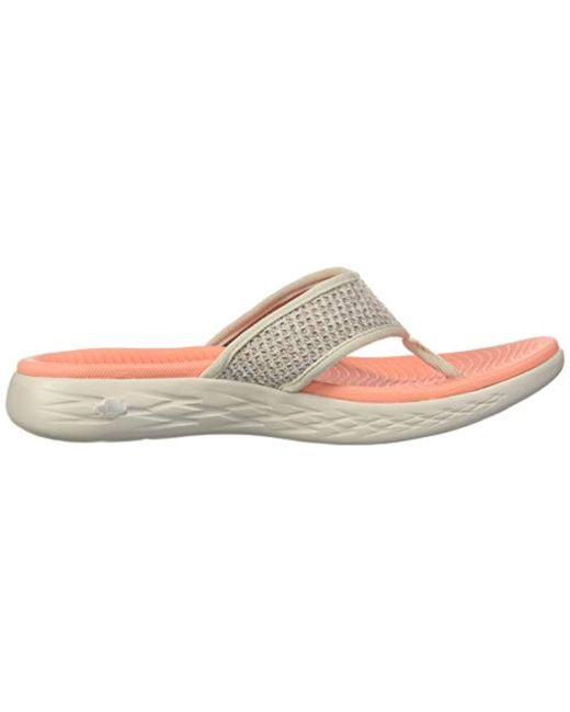 f7285044bac8 ... Skechers - Multicolor On-the-go 600-glossy Flip-flop - Lyst ...