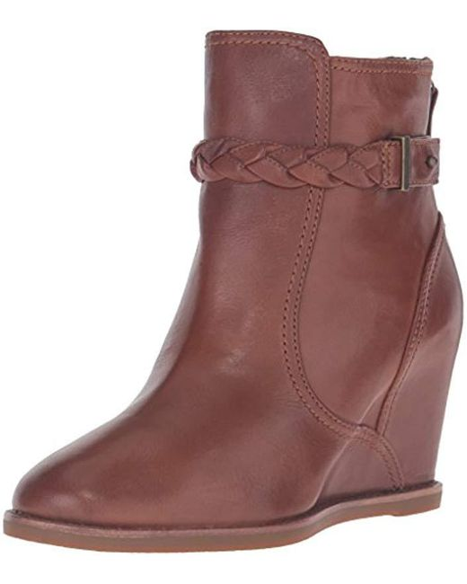 Johnston & Murphy - Brown Regan Ankle Bootie - Lyst