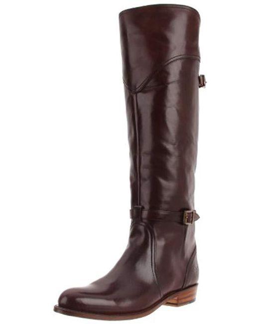 Frye - Brown Dorado Riding Boot - Lyst