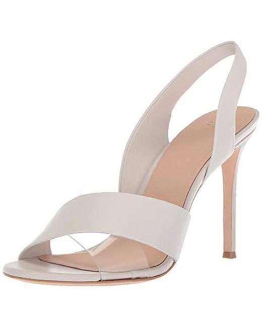 Pour La Victoire - White Elly Heeled Sandal - Lyst