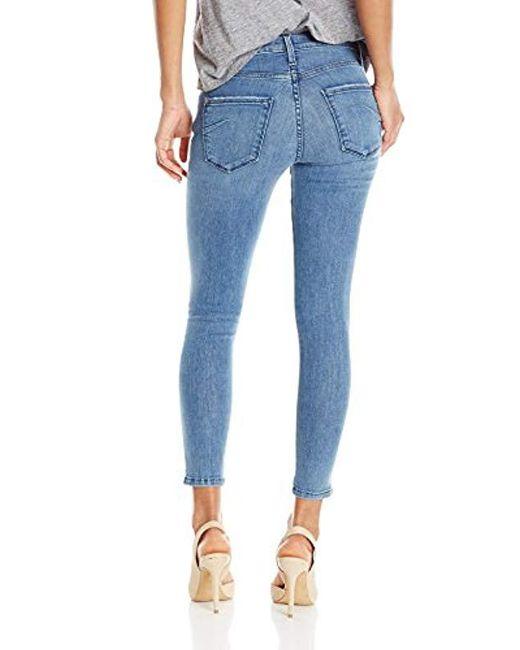 2316b599263cd2 ... James Jeans - Blue Twiggy Ankle Five-pocket Legging Jean - Lyst ...