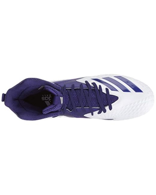 9fc9f50d0 ... Adidas - Freak X Carbon Mid Football Shoe White Collegiate Purple