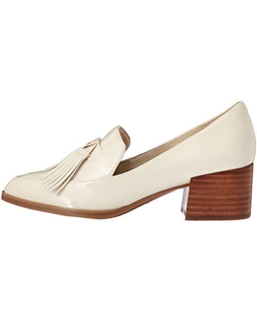 4ebb0b6cd65 ... Marc Fisher - White Phylicia Loafer - Lyst ...