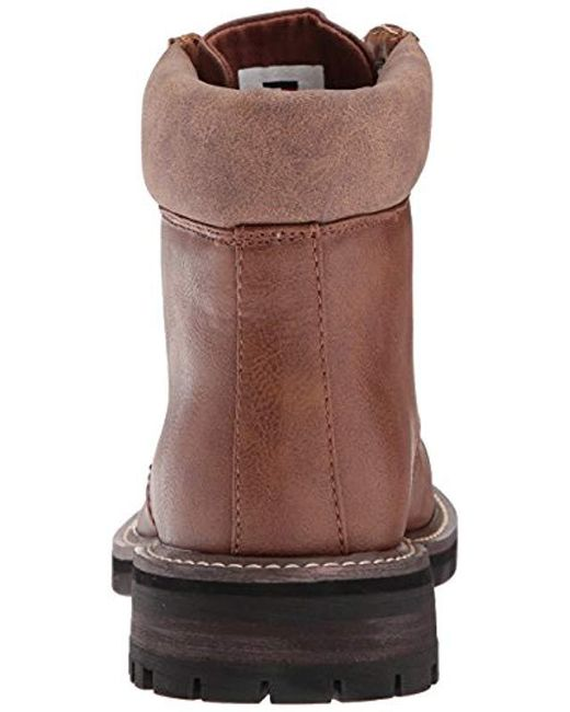 ea20c1a3d1e8e Lyst - Tommy Hilfiger Horus Combat Boot in Brown for Men - Save 51%