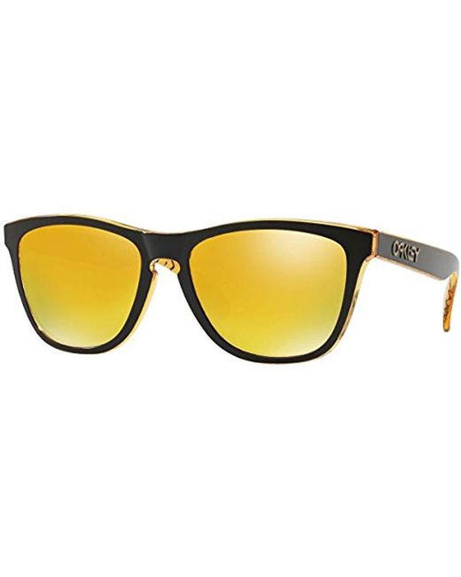 b4fdb5a3772 Oakley - Multicolor Frogskins 009013 Wayfarer Sunglasses for Men - Lyst ...