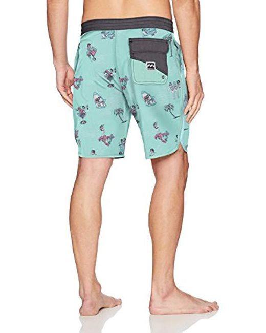 4afbf150c0 Billabong 73 Lt Line Up Boardshort in Blue for Men - Save 65% - Lyst