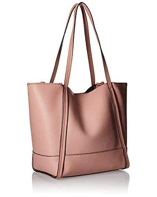 9f4ddb886e38 Guess - Multicolor Heidi Rosewood Tote - Lyst ... best online  Guess Women  s Heidi Tote Handbag ...