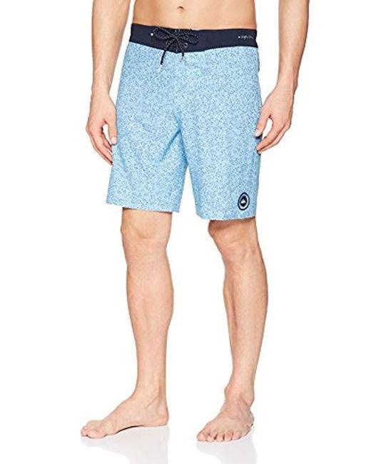 Quiksilver Blue Highline Variable 19 Swim Trunk for men