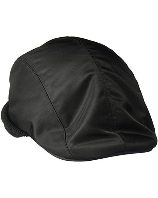 4ef6cb37b6a65 Kangol Pilot Cap With Cuff in Black for Men - Save 23% - Lyst