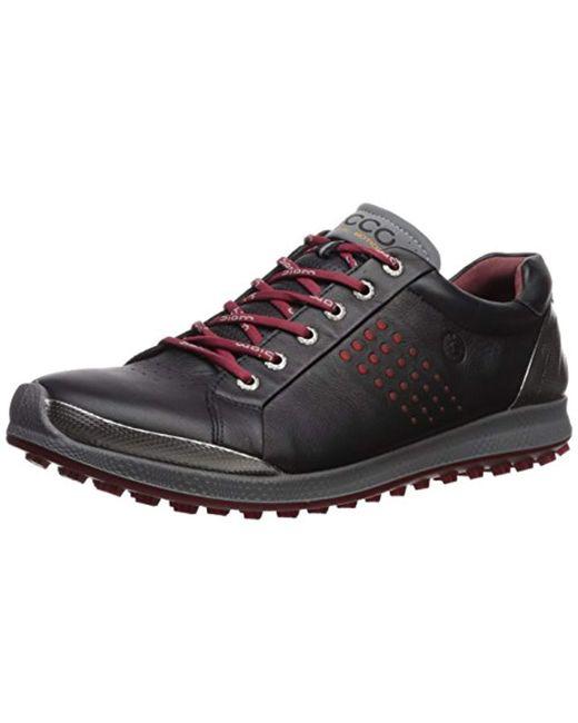 Ecco - Black Biom Hybrid 2 Hydromax Golf Shoe for Men - Lyst