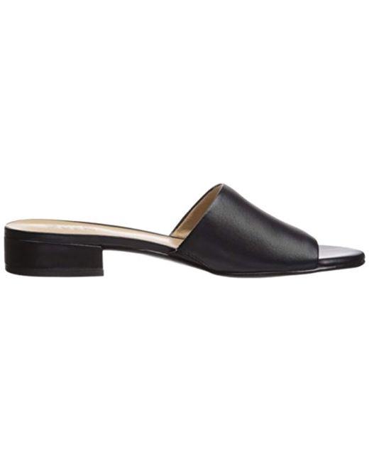 f21c39d1fc14 Lyst - Naturalizer Mason Slide Sandal in Black - Save 11%