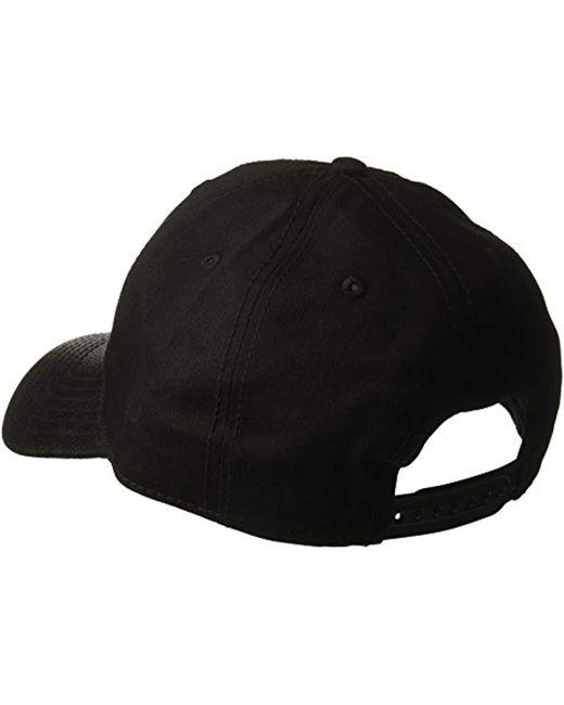... U.S. POLO ASSN. - Black Pebbled Faux Leather Baseball Cap a72ee79fdb4