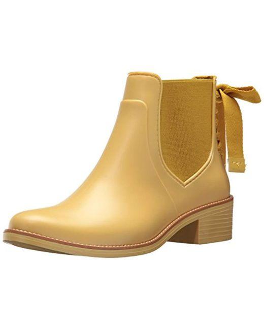 Bernardo - Yellow Paxton Rain Boot - Lyst