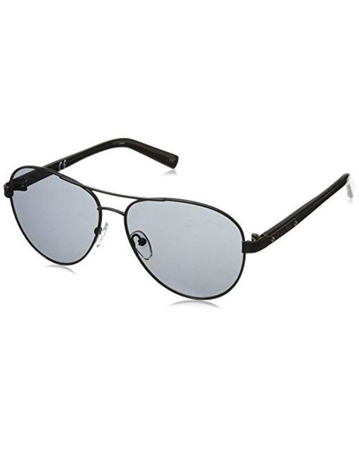 Calvin Klein - Black R363s Aviator Sunglasses for Men - Lyst