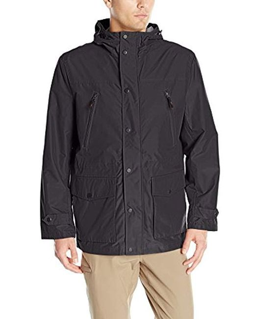 London Fog - Blue Brookings Anorak Three-in-one Systems Jacket for Men - Lyst