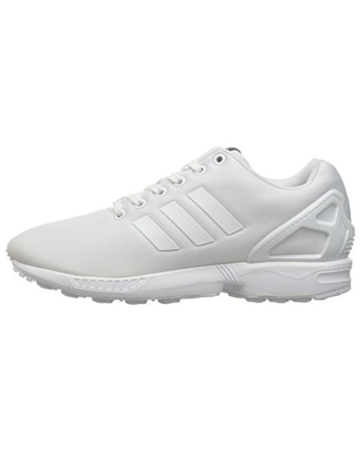 new product 8016d a40cb Men's White Zx Flux Sneakers