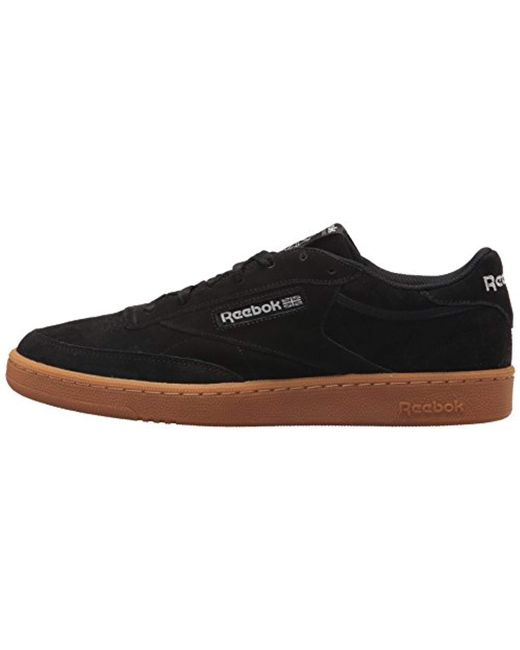 1212d88a4083ae Lyst - Reebok Club C 85 Gs Sneaker in Black for Men - Save 51%