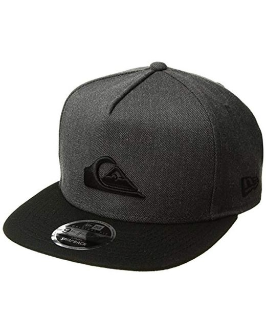 size 40 fa1d0 a266c Quiksilver - Gray Stuckles Snap Trucker Hat for Men - Lyst ...