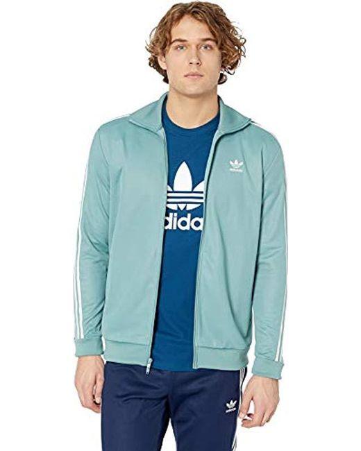 eb79e9aa2bdb Adidas Originals - Blue Originals Franz Beckenbauer Tracktop for Men - Lyst  ...
