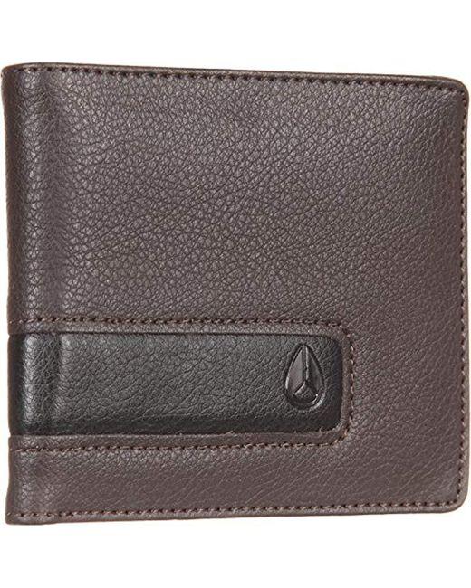 Nixon - Brown Showoff Wallet for Men - Lyst