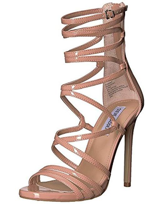 551277dcda9 Lyst - Steve Madden Flaunt Heeled Sandal - Save 29.545454545454547%