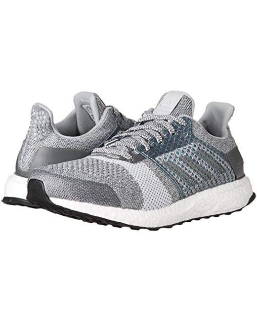 c30e70ef50142 ... Adidas - Gray Ultraboost St Parley Running Shoe - Lyst ...