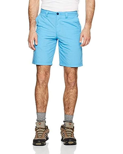 Columbia - Blue Washed Out Short for Men - Lyst